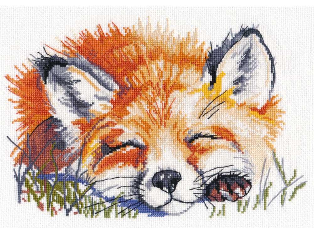 Вышивка крестом, Набор для вышивания «Рыжая», Овен, 24x16 см, 1133  - купить со скидкой