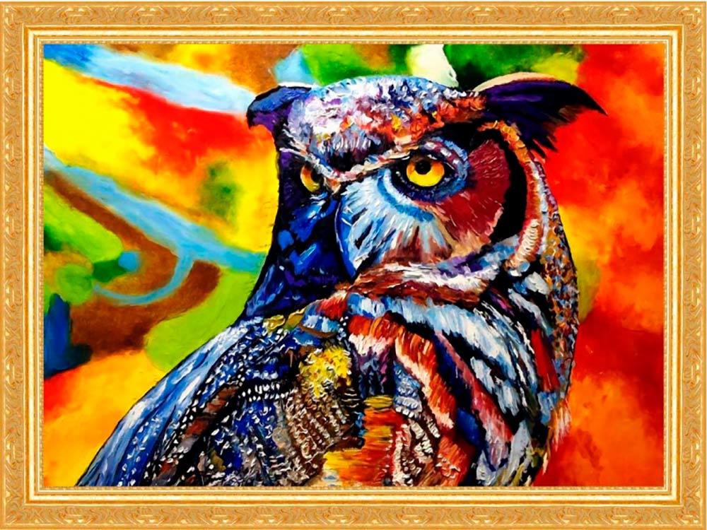 Купить Мозаика из пайеток «Мудрая сова», Color KIT, 30x40 см, CME014