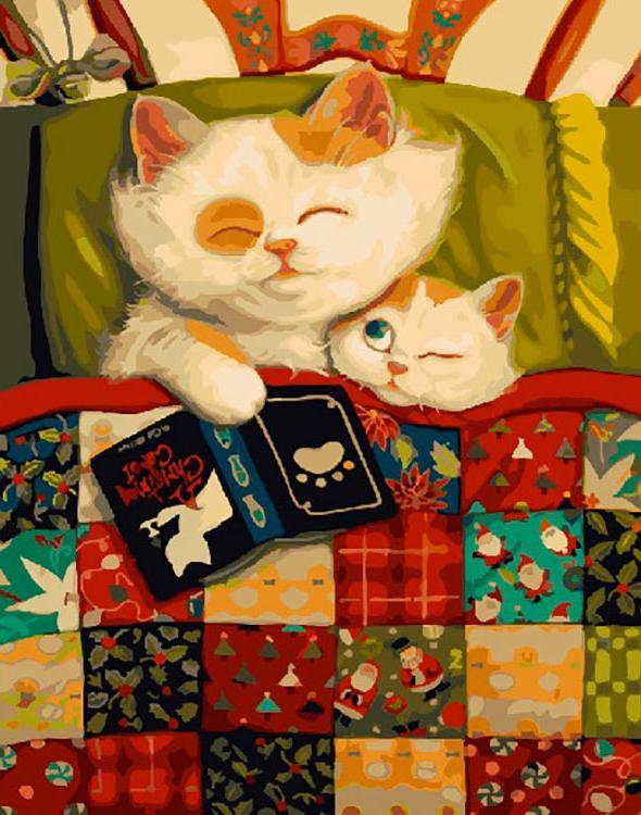 Купить Картина по номерам «Сказки на ночь», Paintboy (Premium), Китай, GX26094