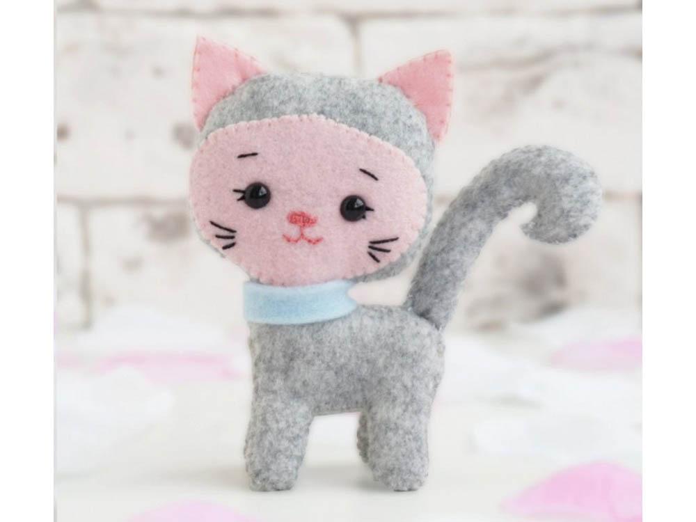 Купить Набор для шитья игрушки «Котенок Мася», ТУТТИ, высота 11 см, 05-27