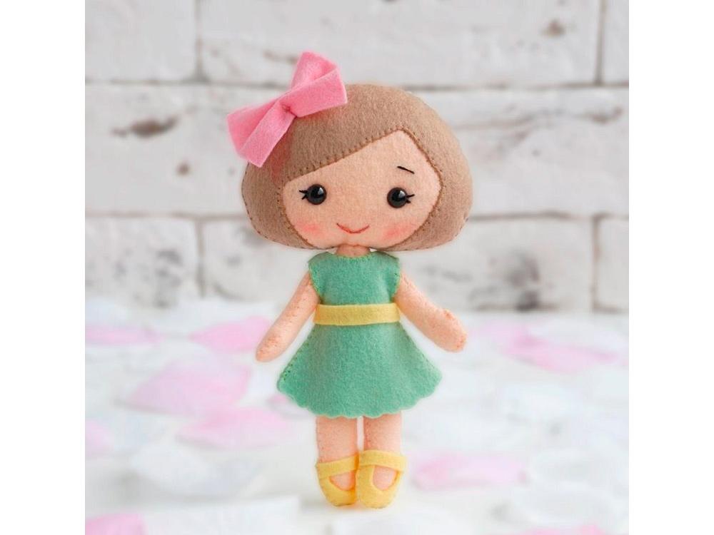Купить Набор для шитья игрушки «Кукла Малышка Настюша», ТУТТИ, высота 15, 5 см, 05-28