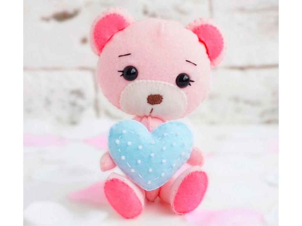 Набор для шитья игрушки «Медвежонок Милли», ТУТТИ, высота 12 см, 05-32  - купить со скидкой