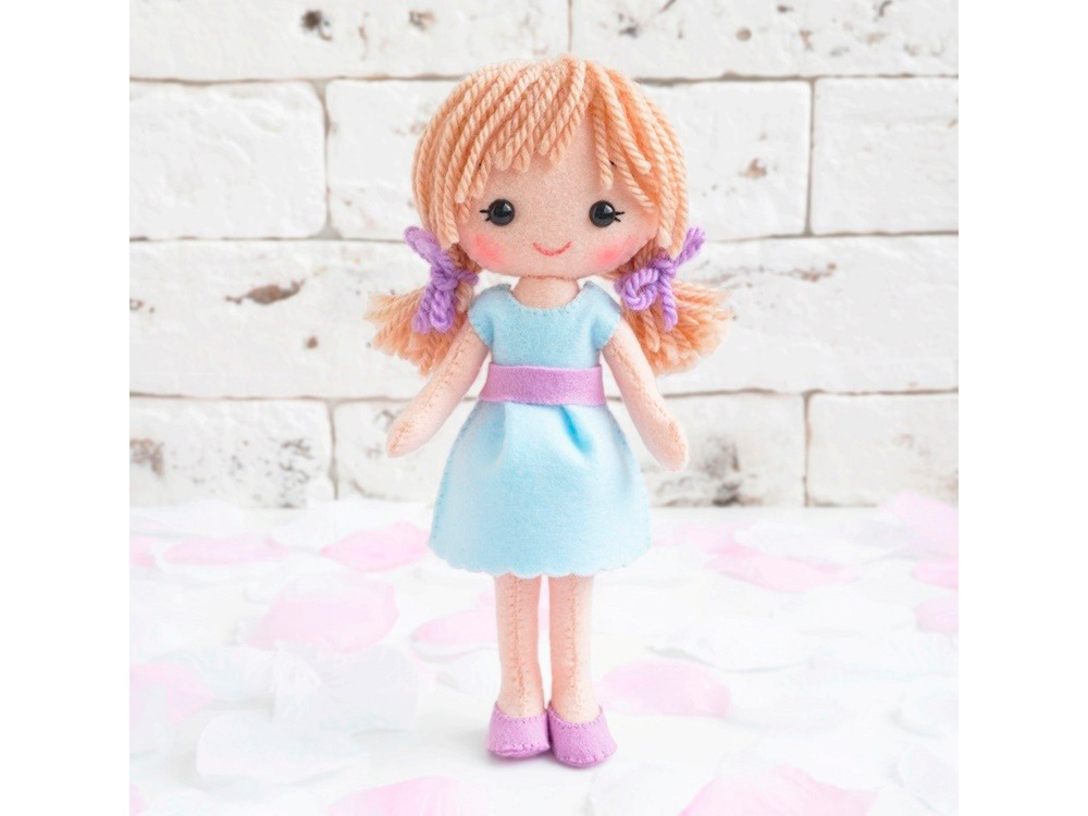 Набор для шитья игрушки «Ксюша», ТУТТИ, высота 20 см, 01-19  - купить со скидкой