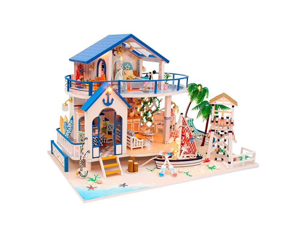 Купить Набор для создания миниатюры (румбокс) «Причал», Hobby Day, 32x22x22 см, 13844