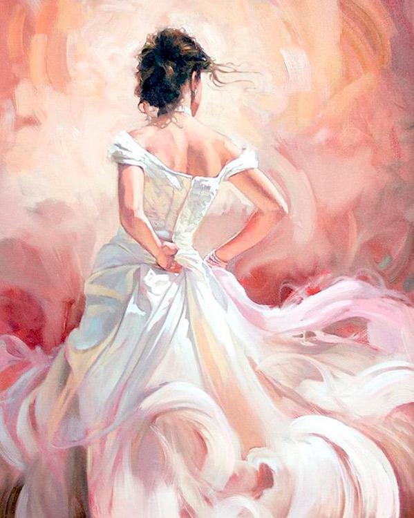 Купить Алмазная вышивка «Невеста», Алмазное Хобби, Россия, 40x50 см, Ah17851
