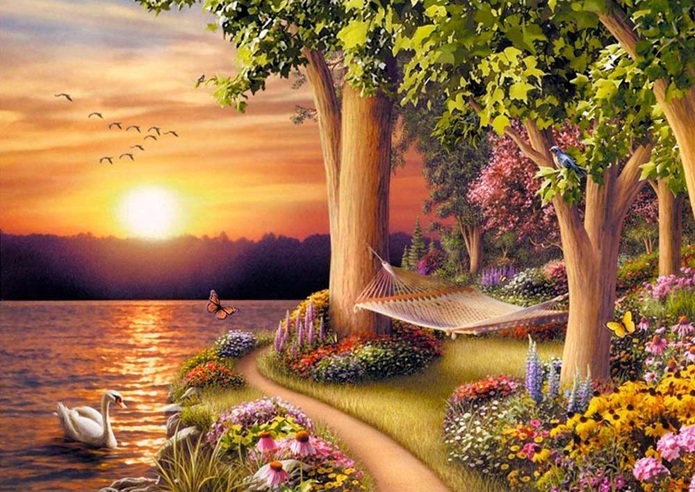 Приглашаю, открытки с пейзажами природы анимация