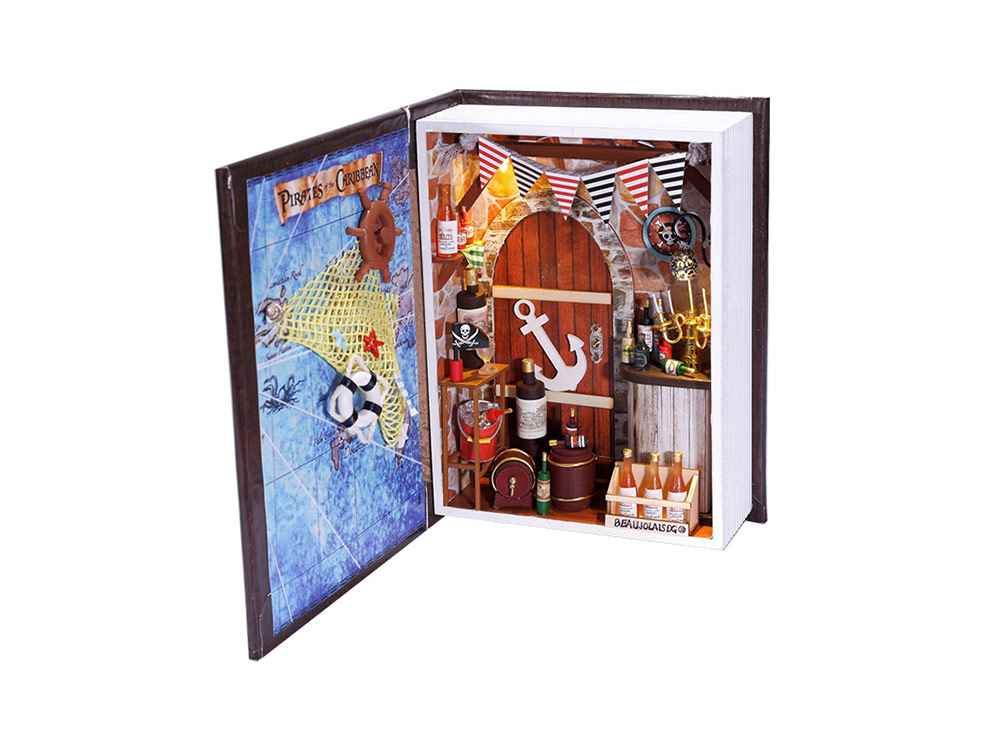 Купить Набор для создания миниатюры (румбокс) «Дневник пирата», Hobby Day, 15x6x20 см, B001