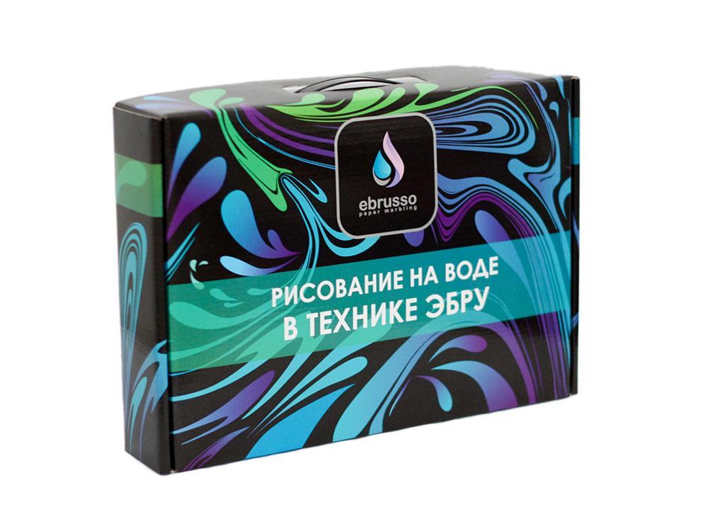 Набор для эбру «Профи» 10 цветов, Ebrusso, EBR31  - купить со скидкой