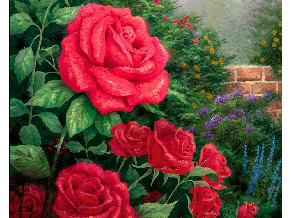 картины с изображением цветов в картинках понедельник похоронили