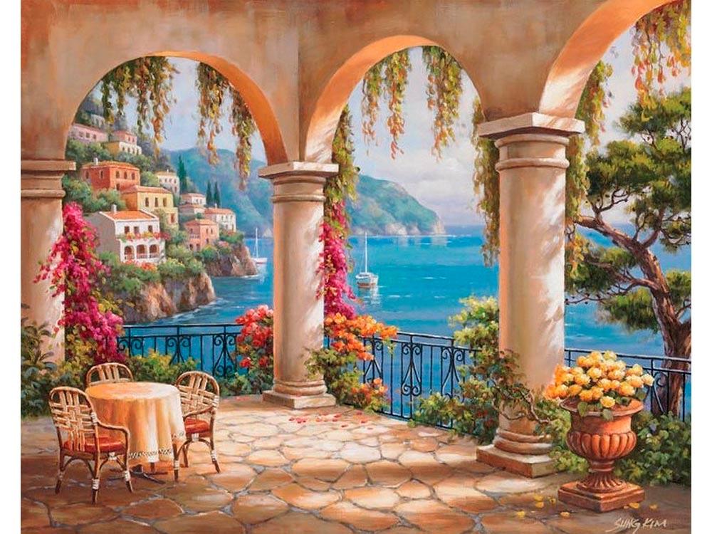 Постер картины итальянские пейзажи выполнения стрижки