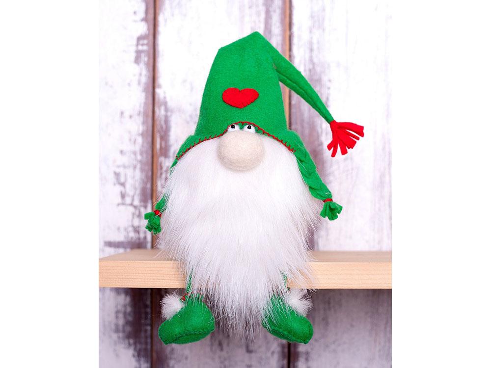 Купить Набор для шитья «Зеленый гном», Перловка, высота 15, 5 см, ПФГ-1552