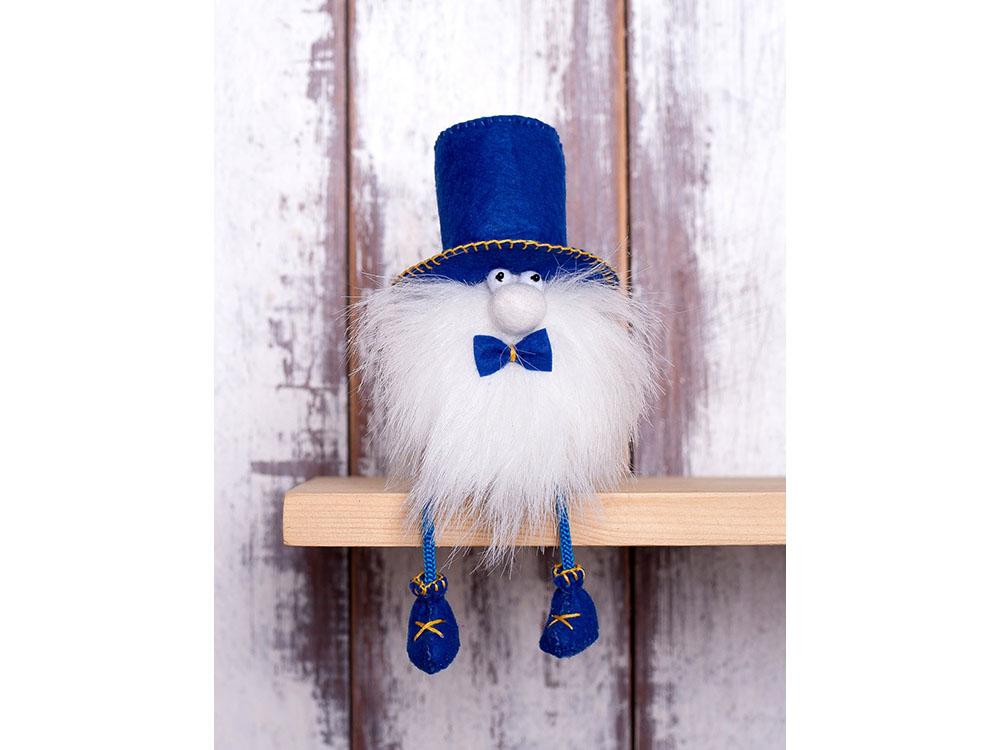 Купить Набор для шитья «Гном-джентльмен», Перловка, высота 12, 5 см, ПФГ-1553