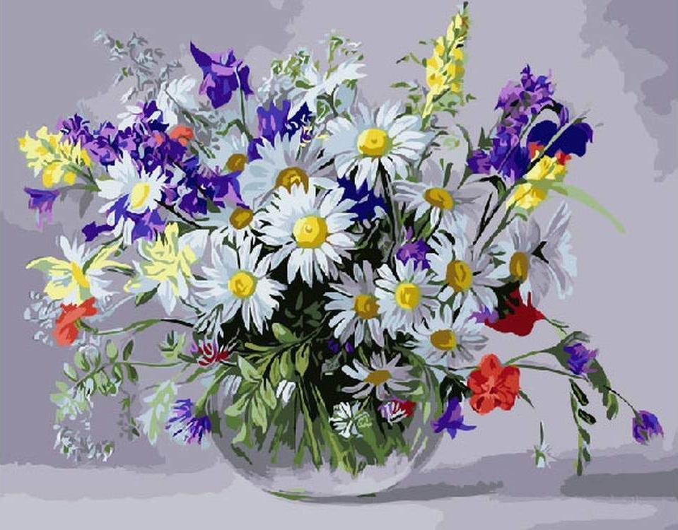 Для, открытки цветов полевых