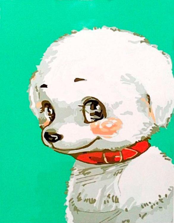 Купить Картина по номерам «Кокетка», Paintboy (Premium), Китай, EX014