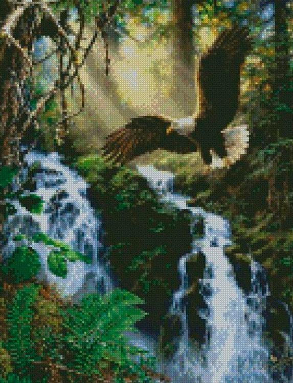 Купить Алмазная вышивка «Охотник», Painting Diamond, 40x50 см, GF2387