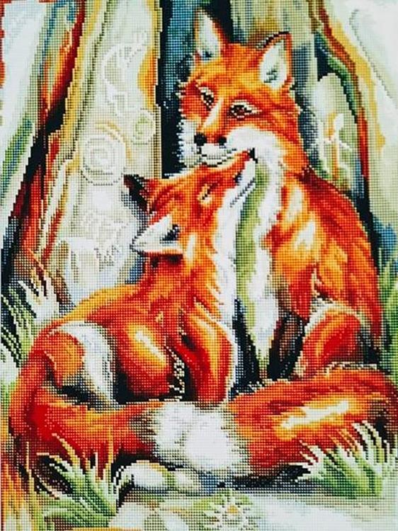 Купить Алмазная вышивка «Нежность», Painting Diamond, 40x50 см, GF2388