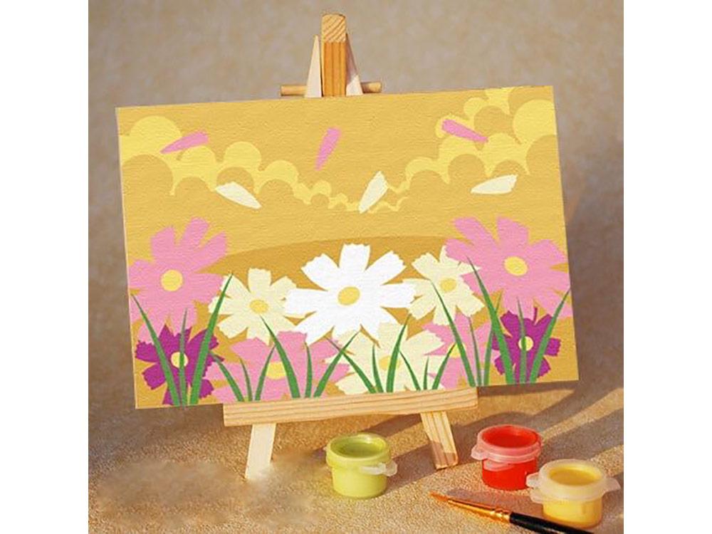 Купить Картина по номерам «Цветочная поляна», Цветной (Standart), Россия, PA040_Z