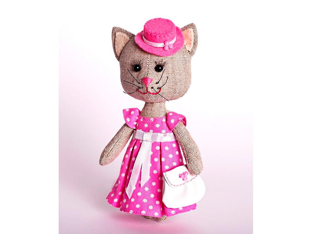 Купить Набор для шитья «Тетя Кошка», Перловка, высота 16, 5 см, ПЛДК-1456