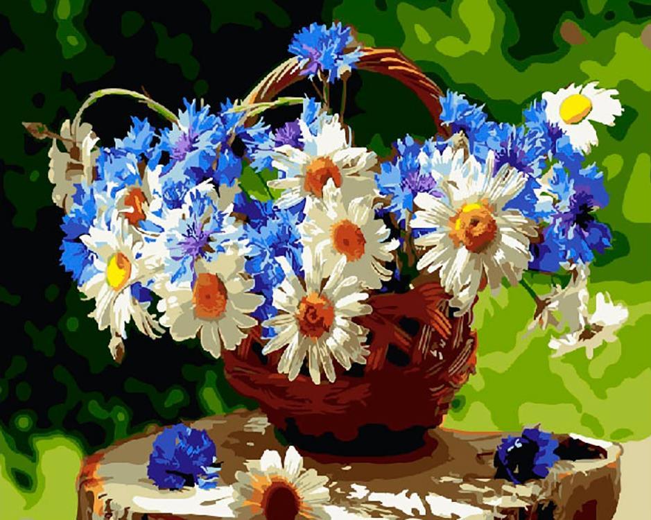 Купить Картина по номерам «Ромашковое лето», Paintboy (Premium), GX25806