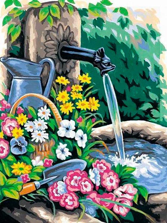 Купить Картина по номерам «Свежесть летнего дня», Paintboy (Premium), Китай, EX6064