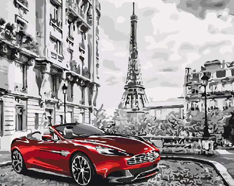 Купить Картина по номерам «Парижское утро», Paintboy (Premium), Китай, GX26761