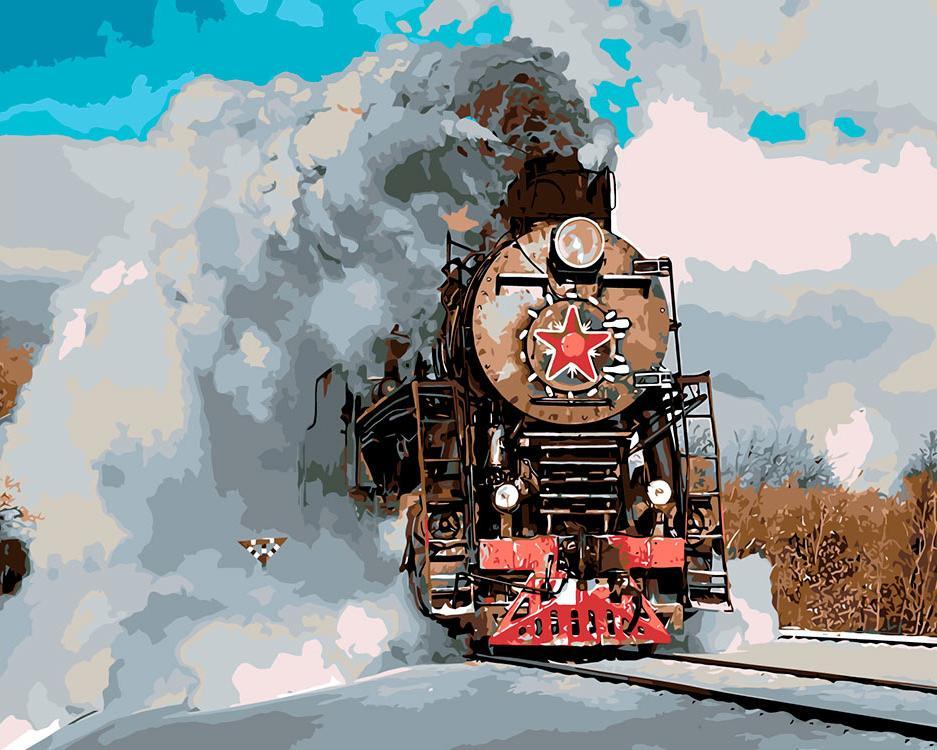 Картинки, открытки с паровозами