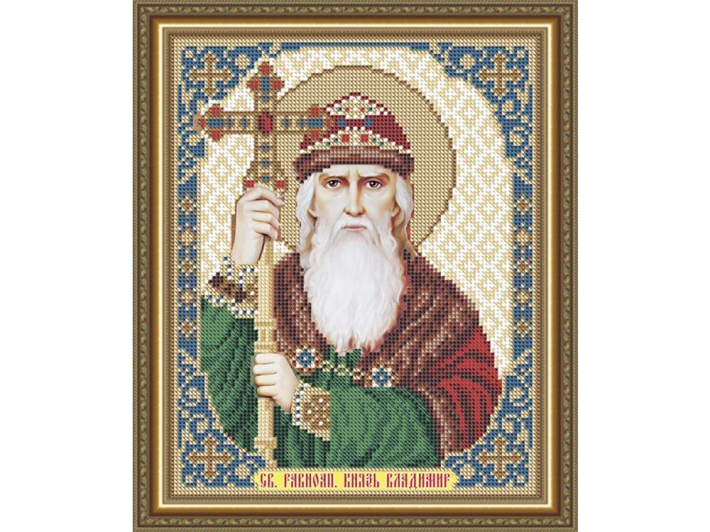 Купить Рисунок на ткани «Святой Равноапостольный Князь Владимир», Арт Соло, VIA4157