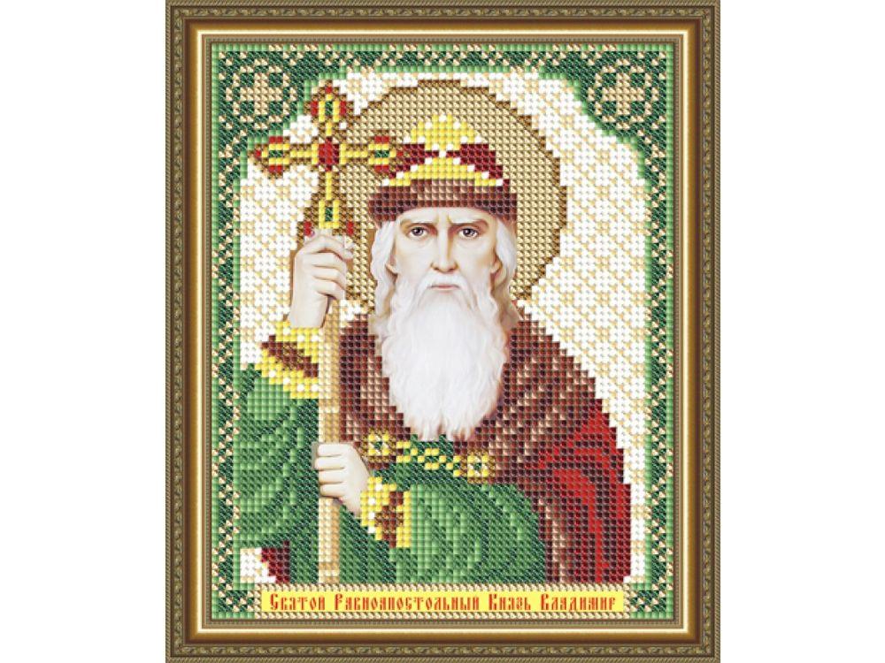 Купить Рисунок на ткани «Святой Равноапостольный Князь Владимир», Арт Соло, VIA5157