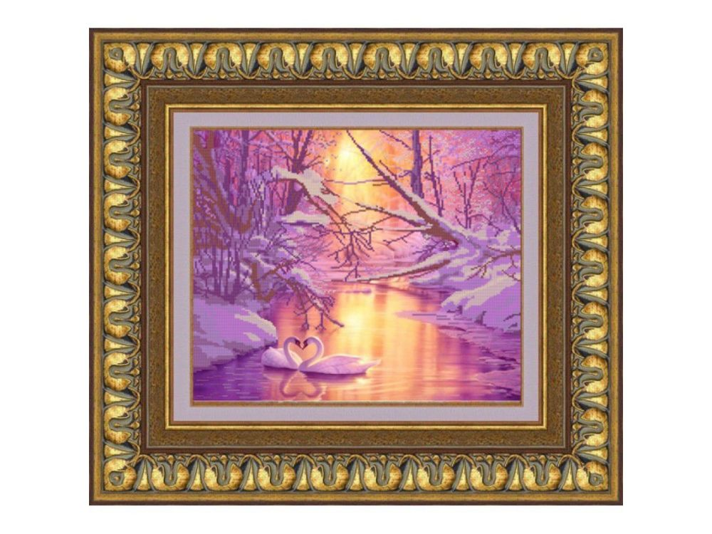 Купить Рисунок на ткани «Зимняя сказка», Конёк, 9644