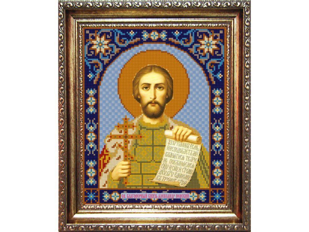 Купить Рисунок на ткани «Св.Александр Невский», Конёк, 9306