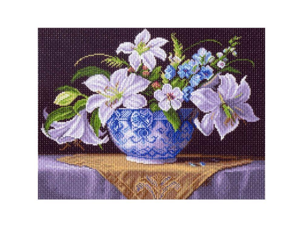 Купить Рисунок на канве «Белые лилии», Матренин Посад, 1403