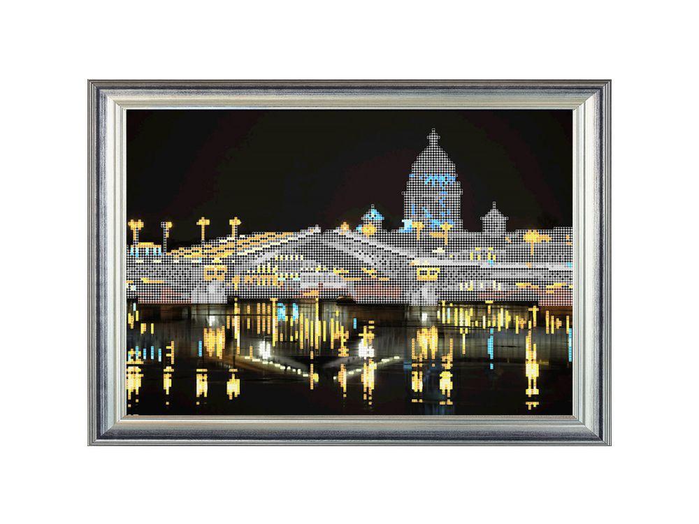 Купить Рисунок на ткани «Ночной Санкт-Петербург», RK LARKES, К3339