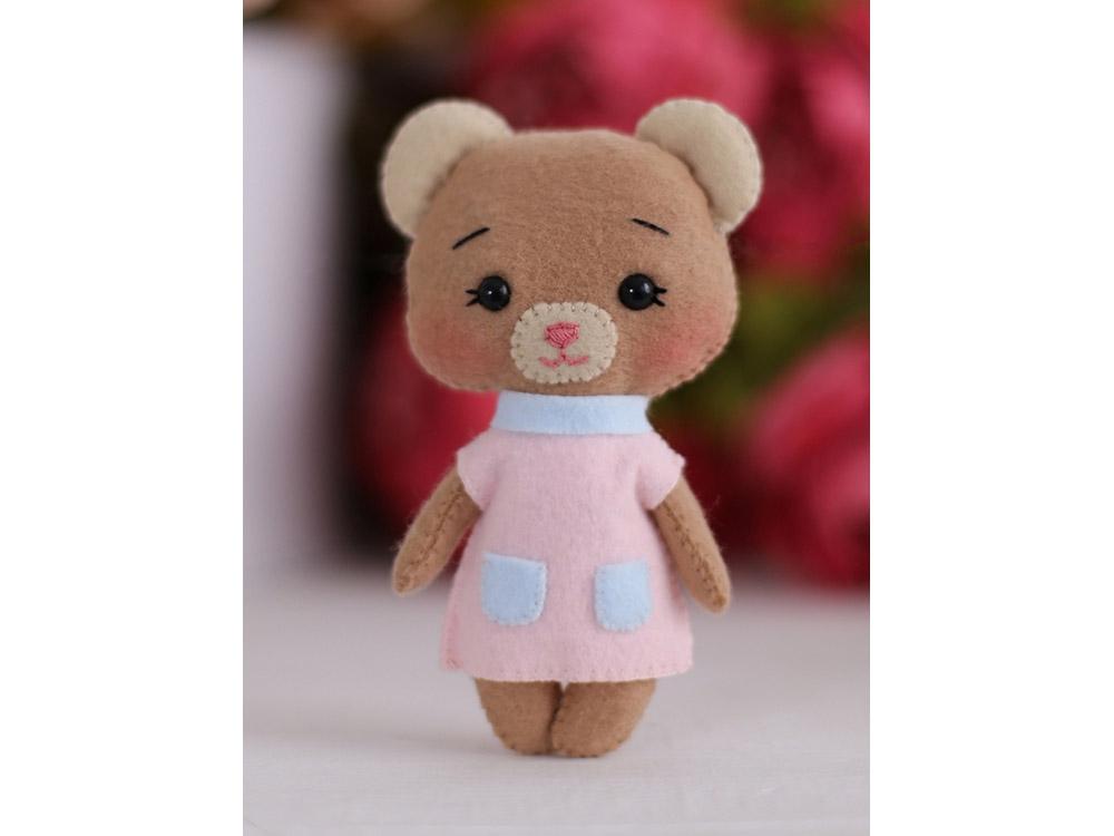 Купить Набор для шитья игрушки «Медвежонок Джилл», ТУТТИ, высота 14 см, 05-44