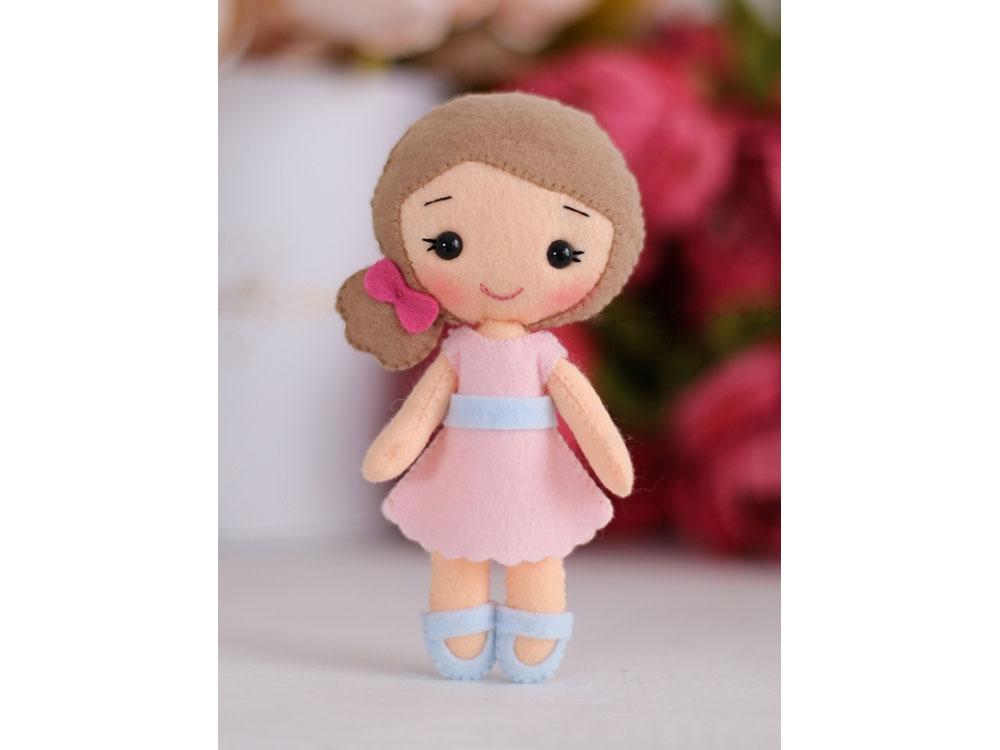Купить Набор для шитья игрушки «Кукла Малышка Полина», ТУТТИ, высота 15 см, 05-48
