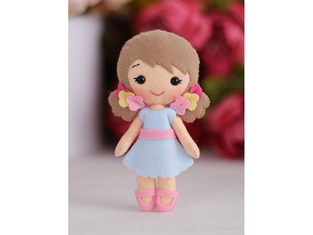 Купить Набор для шитья игрушки «Кукла Малышка Алина», ТУТТИ, высота 15 см, 05-49