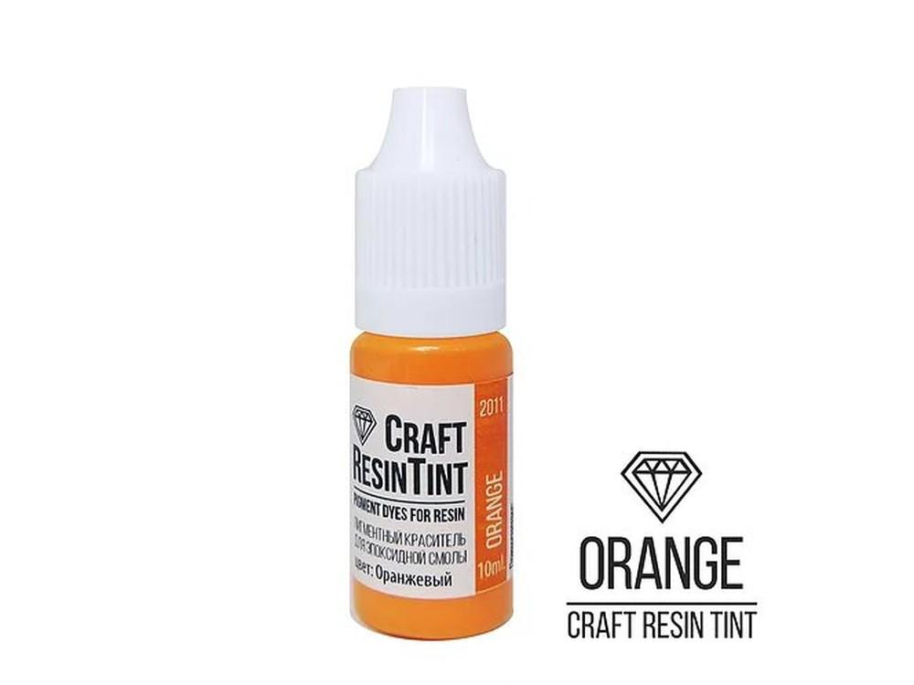 Купить Краситель для смолы и полимеров оранжевый 10 мл, CraftResinTint, Craftsmen.store, PD-2011