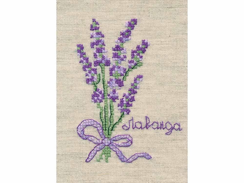 Купить Вышивка крестом, Набор для вышивания «Лаванда», Овен, 9, 4x7 см, 1185