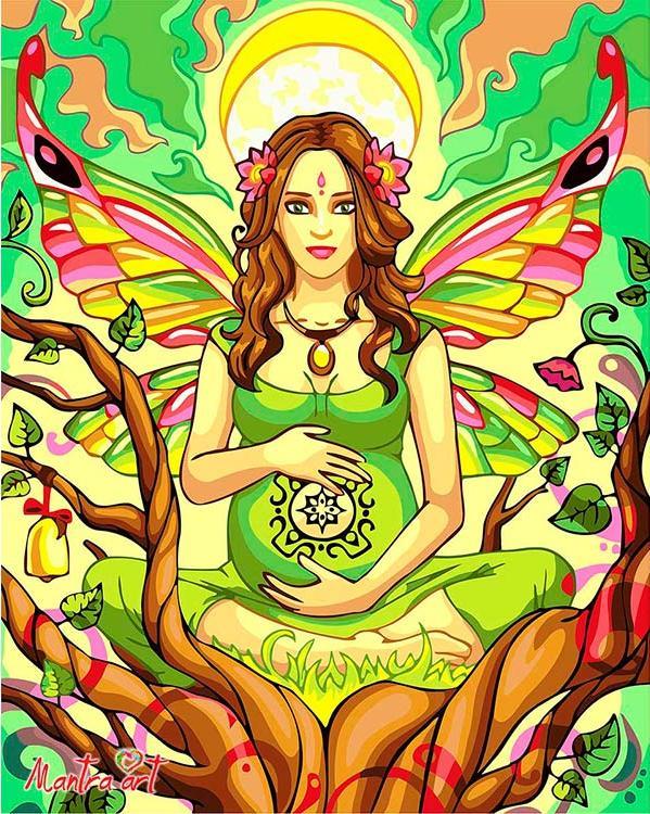 Купить Картина по номерам «В ожидании чуда» + в наборе подарок, Mantra Art, Россия, 5002