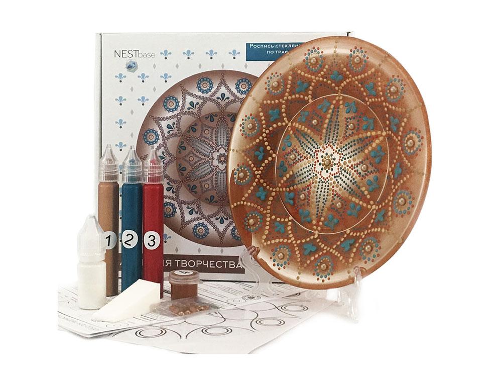 Купить Набор для точечной росписи «Brown Plate», NESTbase, 120601