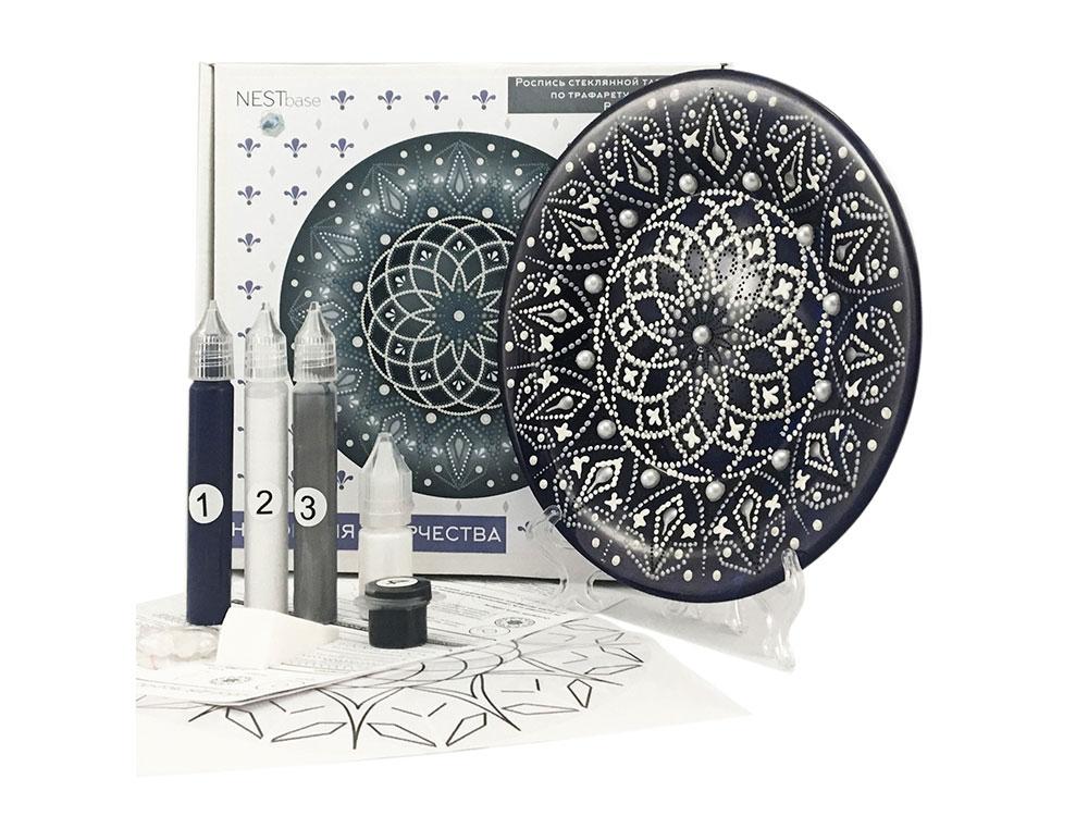 Купить Набор для точечной росписи «Black Plate», NESTbase, 120603