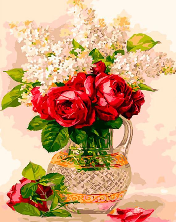 Картины и открытки розы