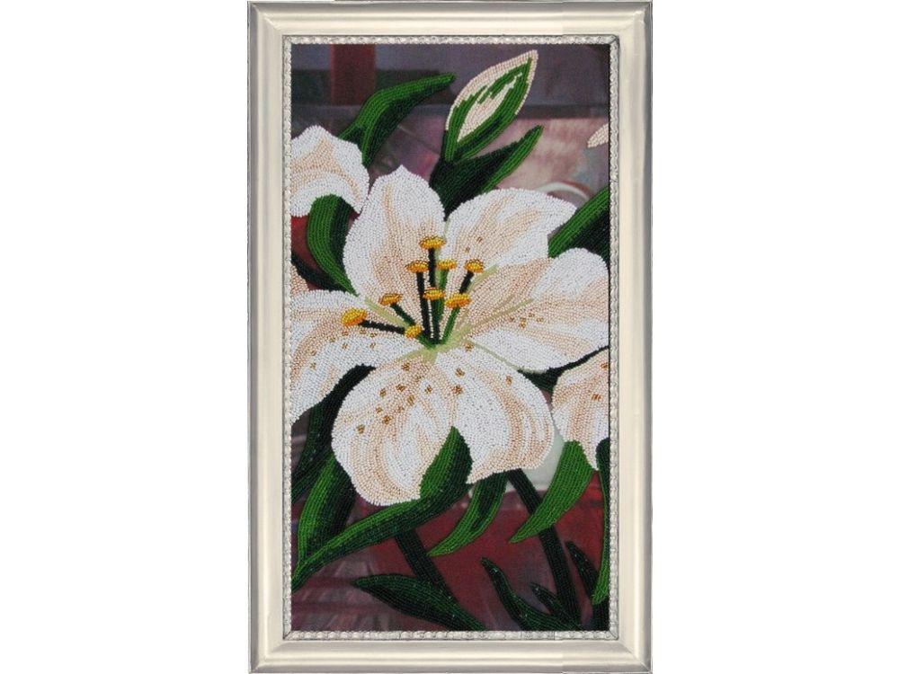 Купить Вышивка бисером, Набор для вышивания бисером «Лилии 2», Butterfly, 37x20 см, 210
