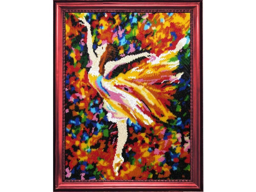 Купить Вышивка бисером, Набор для вышивания бисером «Балерина», Butterfly, 34x26 см, 429