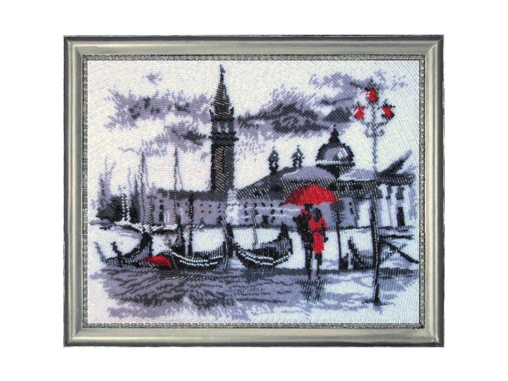 Купить Вышивка бисером, Набор для вышивания бисером «Венеция», Butterfly, 33x27 см, 476