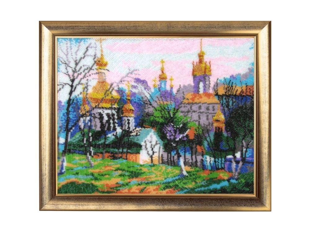 Купить Вышивка бисером, Набор для вышивания бисером «Киев», Butterfly, 27x34 см, 345