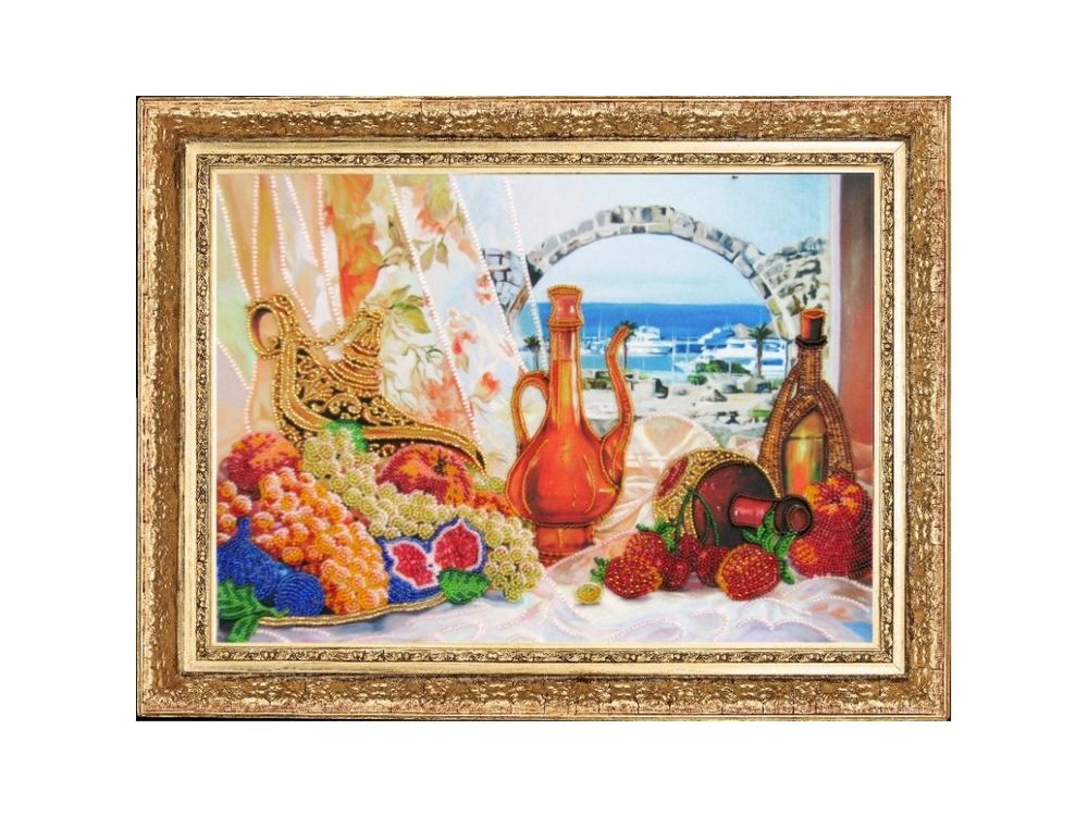 Купить Вышивка бисером, Набор для вышивания бисером «О пряном воздухе Востока», Butterfly, 26x36 см, 280