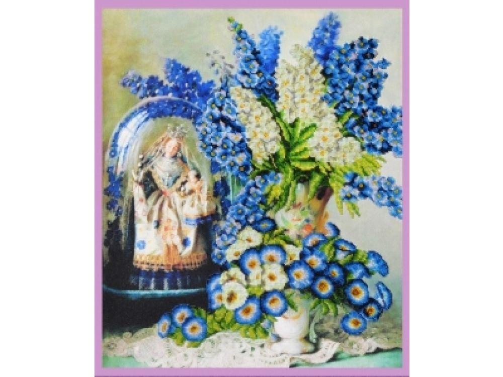 Купить Вышивка бисером, Набор для вышивания бисером «Полевые цветы», Картины Бисером, 41, 5x49, 5 см, Р-251