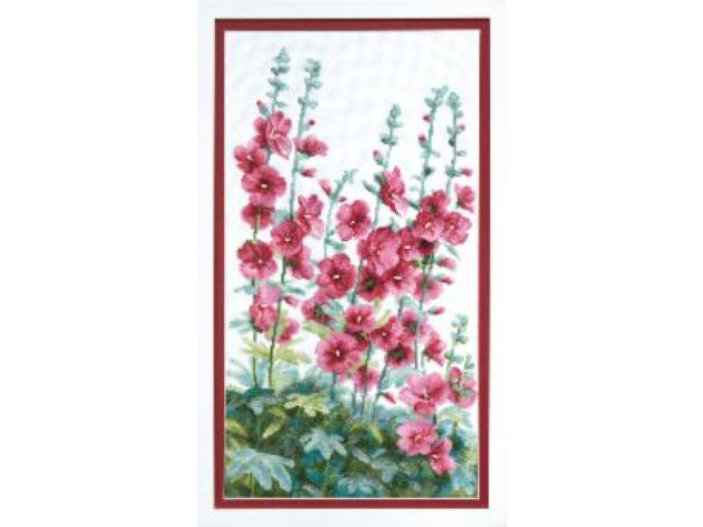 Купить Набор для вышивания «Цветы у дома», Crystal Art, ВТ-013