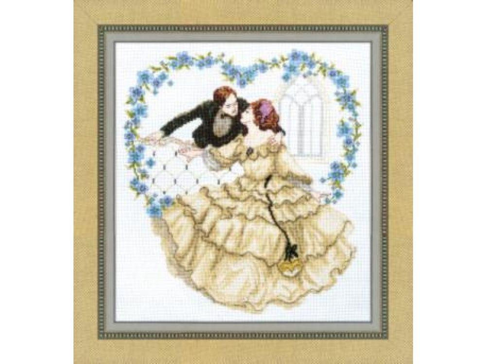 Купить Набор для вышивания «Пылкое признание», Crystal Art, ВТ-1010