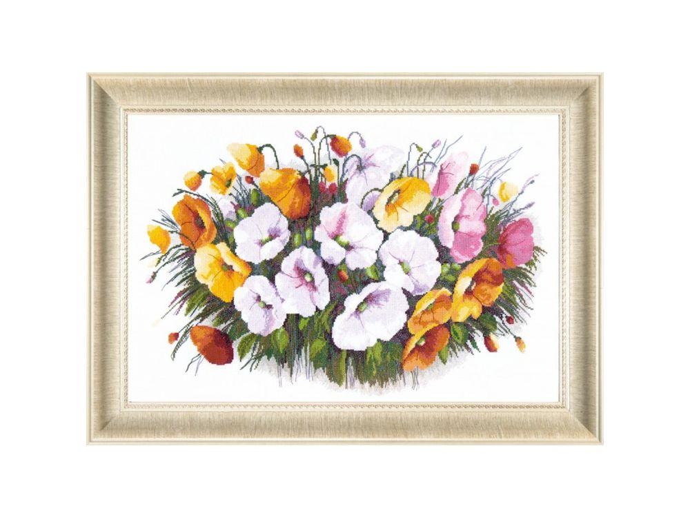 Купить Набор для вышивания «Букет для любимой», Crystal Art, ВТ-042